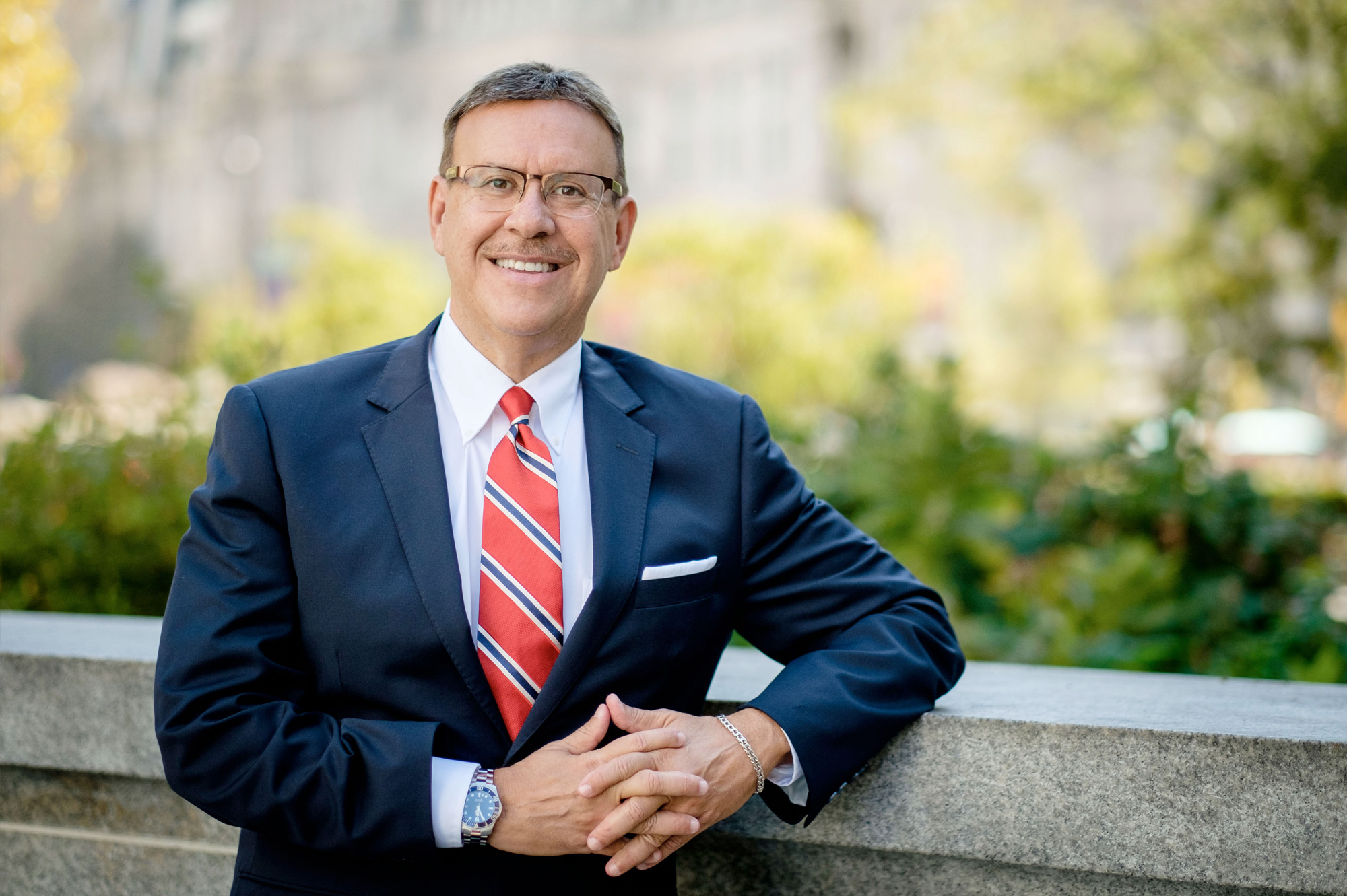 Portrait photo of Rand Spear Accident Attorney smiling
