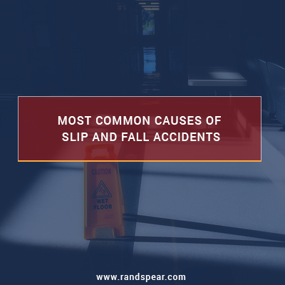 Most common causes of slip and fall accidents