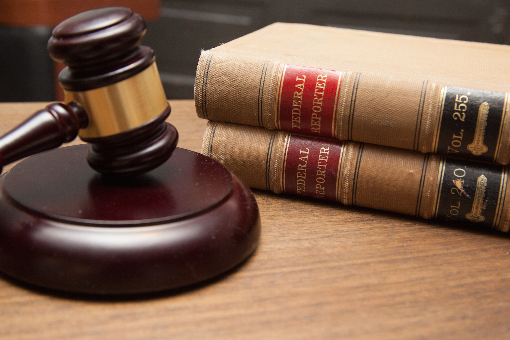 gavel and federal reporter legal books