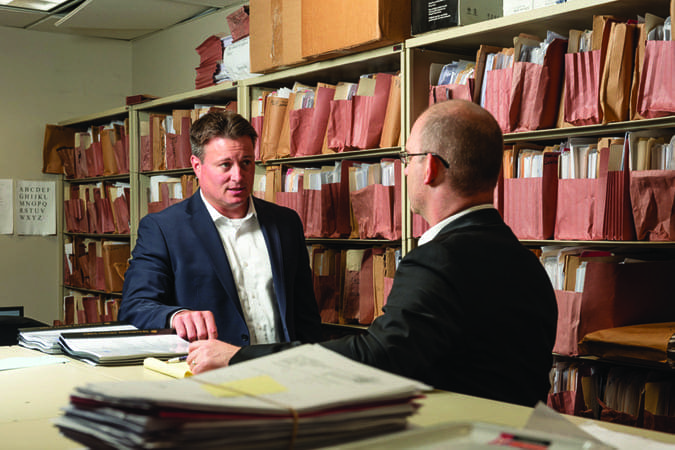 Attorneys Debate Whether to Settle a Claim